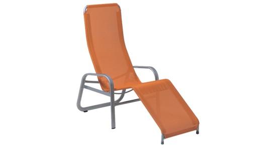 Gesundliege orange silber Florida ohne Hintergrund