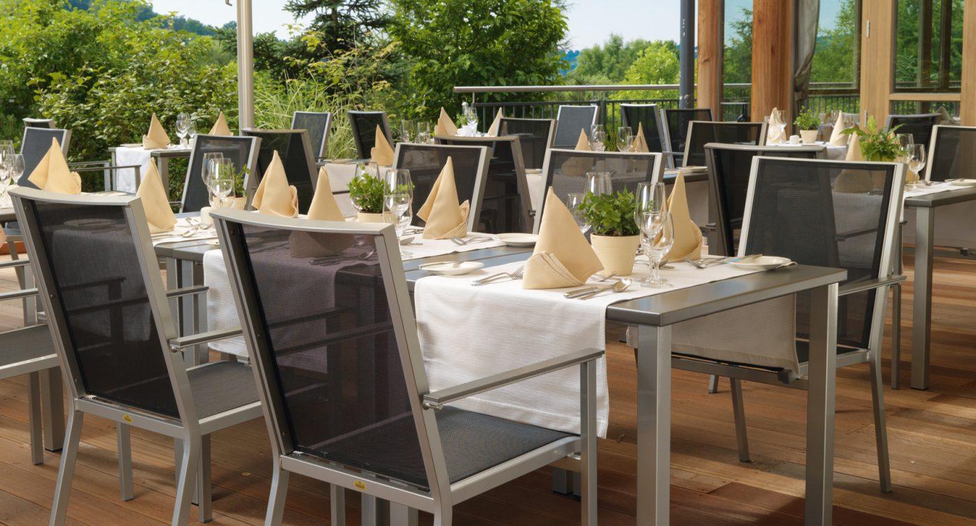 Gartenstühle schwarz silber
