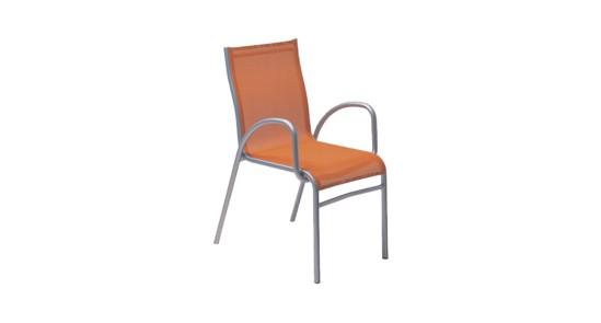 Padua Gartenstuhl orange ohne Hintergrund