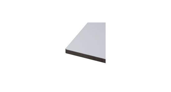 Detailaufnahme Symbolfoto Tischplatte grau