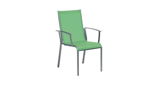 Gartenstuhl Monza grün ohne Hintergrund