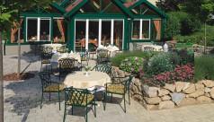 Gartengarnitur Schönbrunn aus grünem Eisen