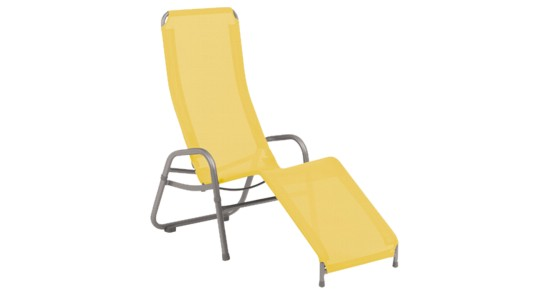 Bermuda Kippliege gelb ohne Hintergrund