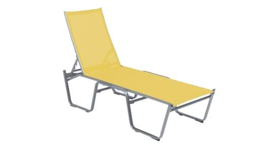 Bermuda Stapelliege gelb ohne Hintergrund
