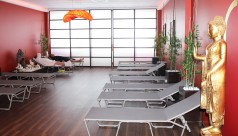 Wellnessbereich mit Karasek Liegen in Bad Füssing