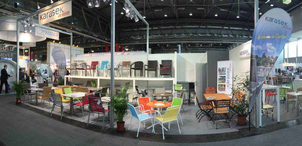 Ausstellungsstand auf der Gast in Wien 2016