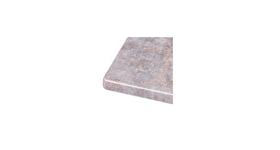 Muster Tischplatte Zink ohne Hintergrund