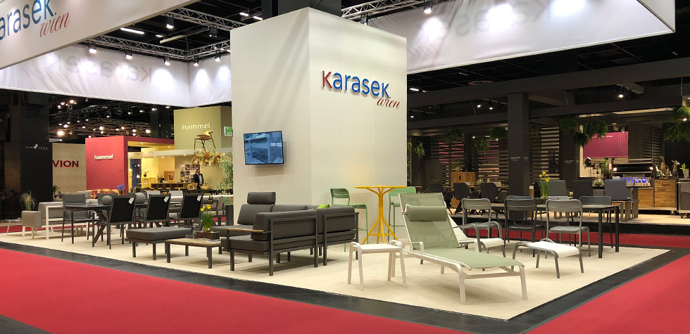 KARASEK Messestand