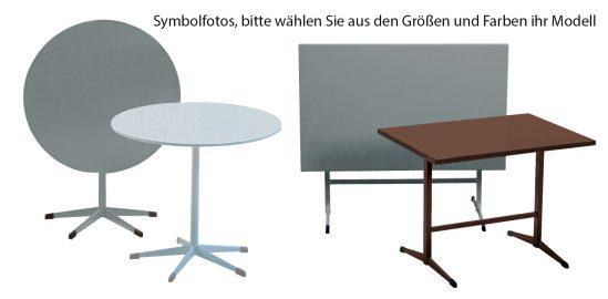 Gastronomiemöbel Zürich verschiedene Tischmodelle