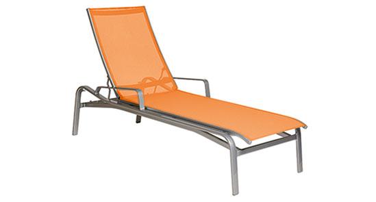 Orange Liege der Serie Barbados